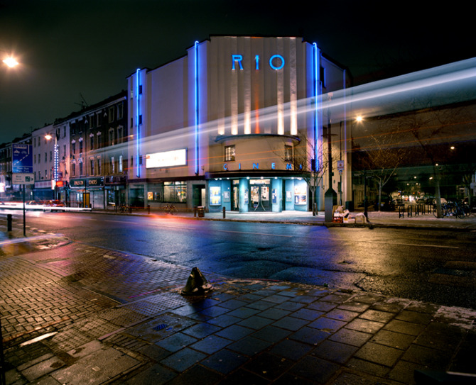 The iconic Rio Cinema in Dalston. Photo cred: www.cargocollective.com