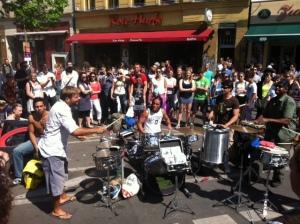 Amazing percussionists